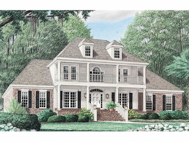 plan 011h 0022 find unique house plans home plans and On southern house designs