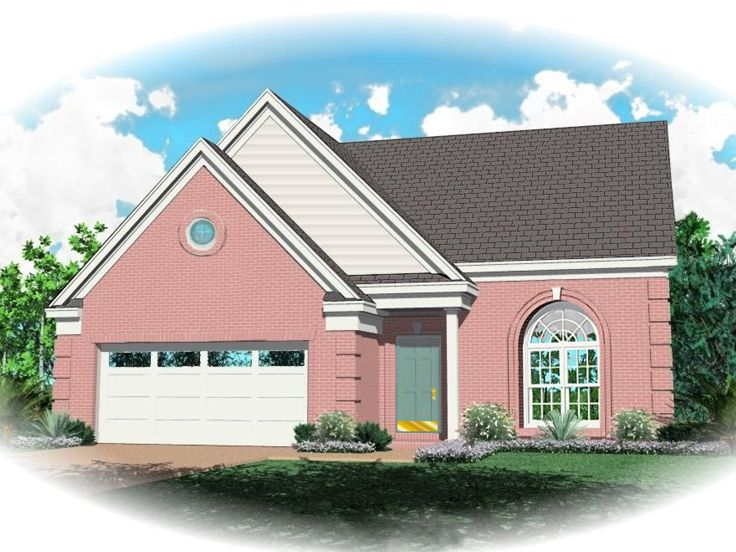 Traditional Home Plan, 006H-0153