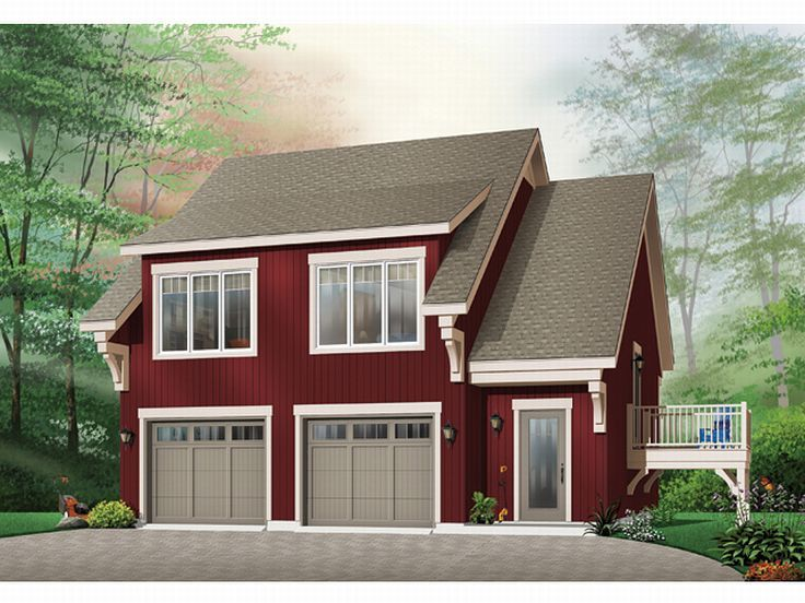 2-Car Carriage House, 027G-0005
