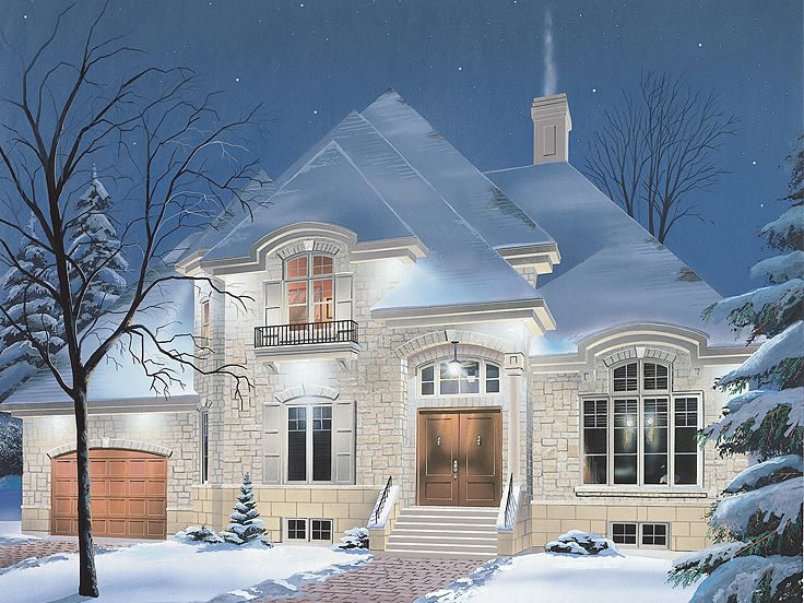 European Home Plan, 027H-0175