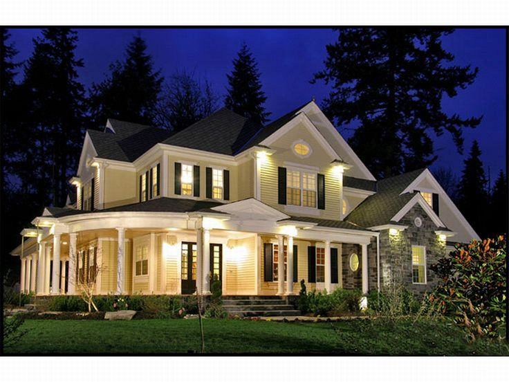 Country Luxury House, 035H-0071