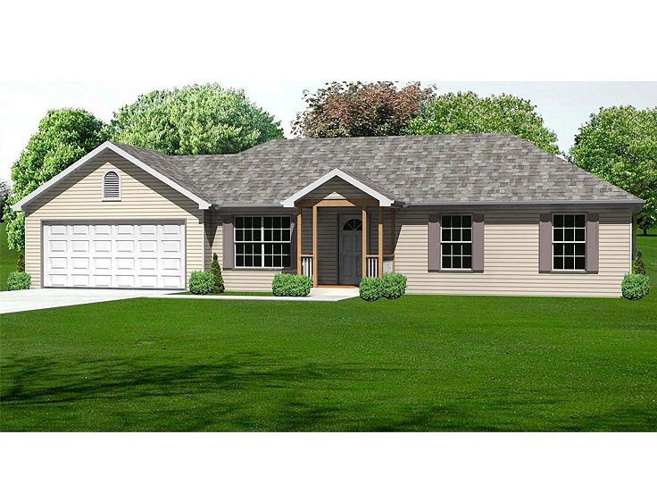Small Home Plan, 048H-0007