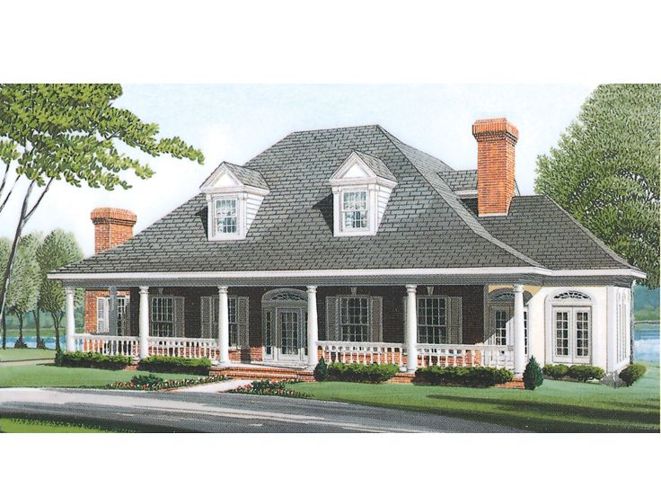 Luxury House Plan, 054H-0128