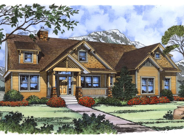 Craftsman Home Plan, 043H-0241