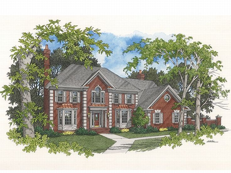 Traditional Home Plan, 007H-0105