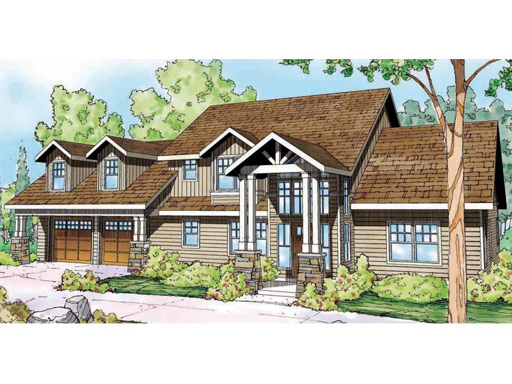 Northwestern Home Plan, 051H-0183