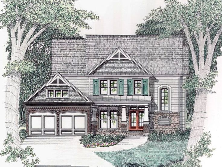 Family House Plan, 045H-0061