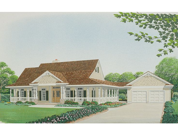 Ranch House Plan, 054H-0035