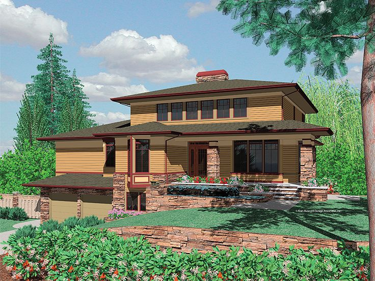 Contemporary House, 034H-0136