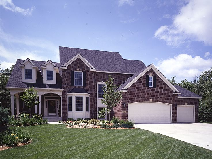 2-Story Home Plan, 022H-0095