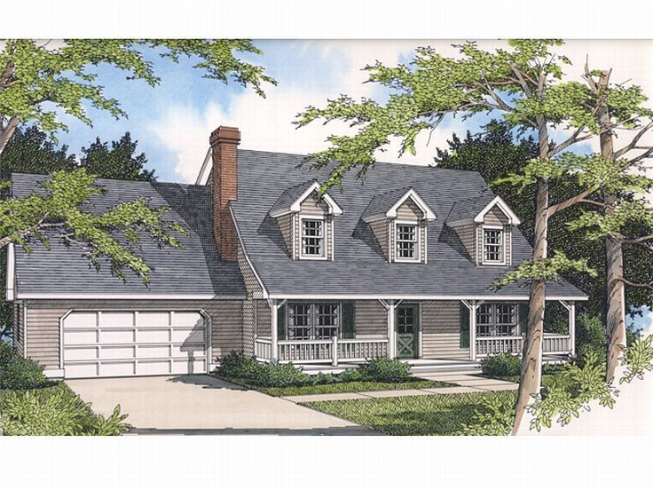 Country House Plan, 026H-0002