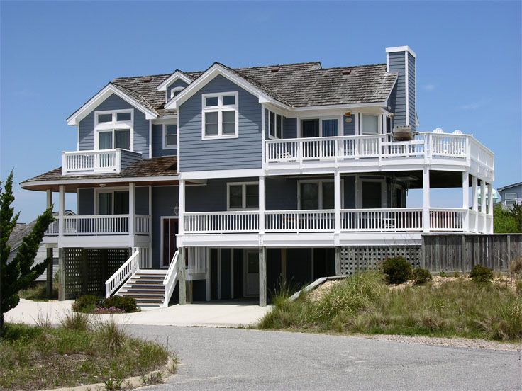 Beach House Plan Photo, 041H-0015
