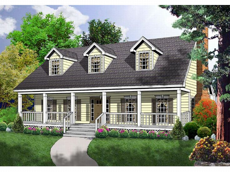 Country House Plan, 015H-0045