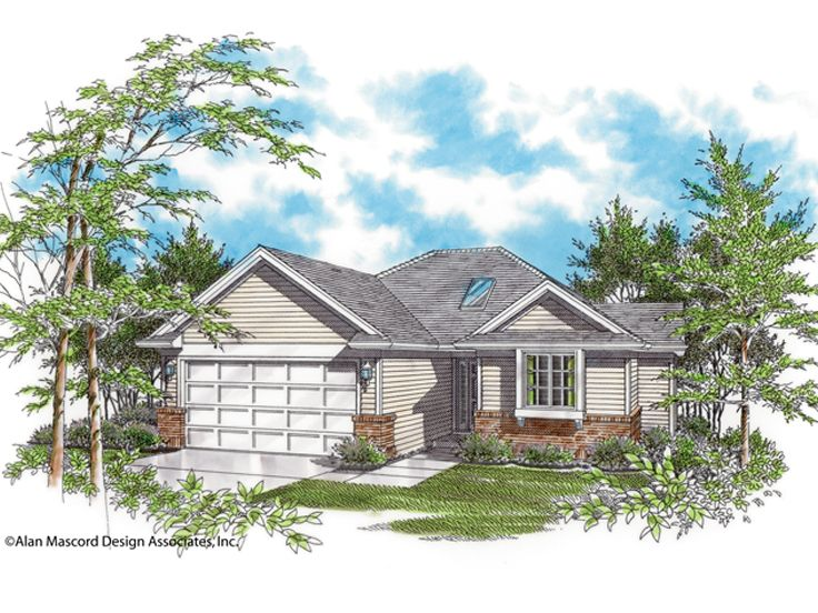 1-Story House Design, 034H-0059
