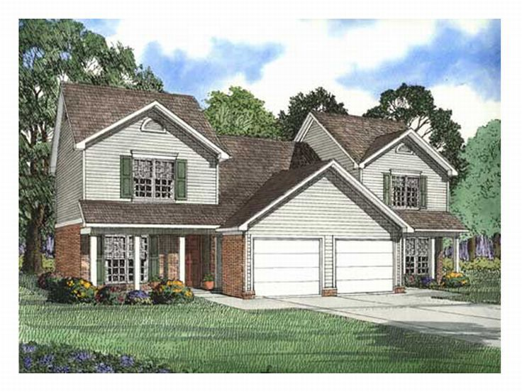 Plan 025m 0015 find unique house plans home plans and for Unique duplex plans