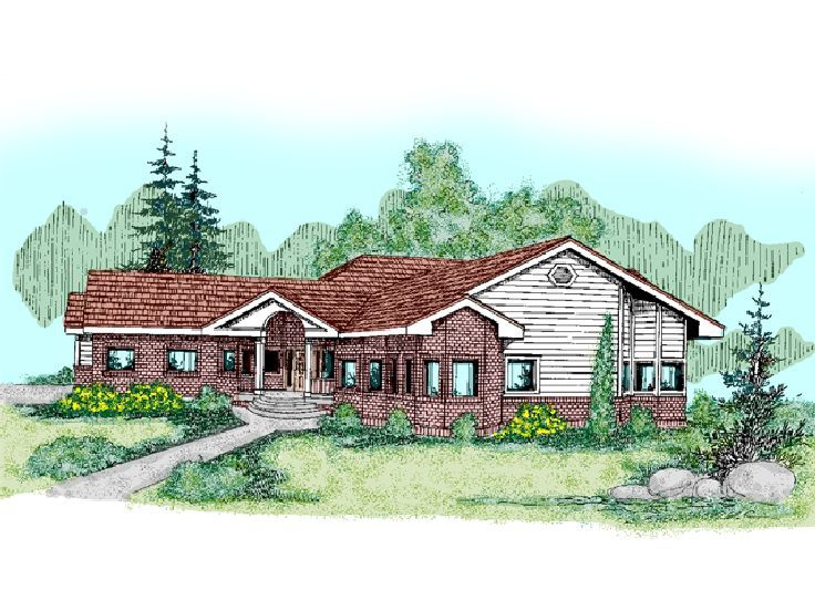 1-Story Home Plan, 013H-0027
