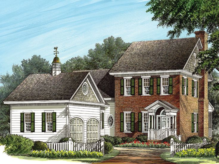 Two-Story House Plan, 063H-0052