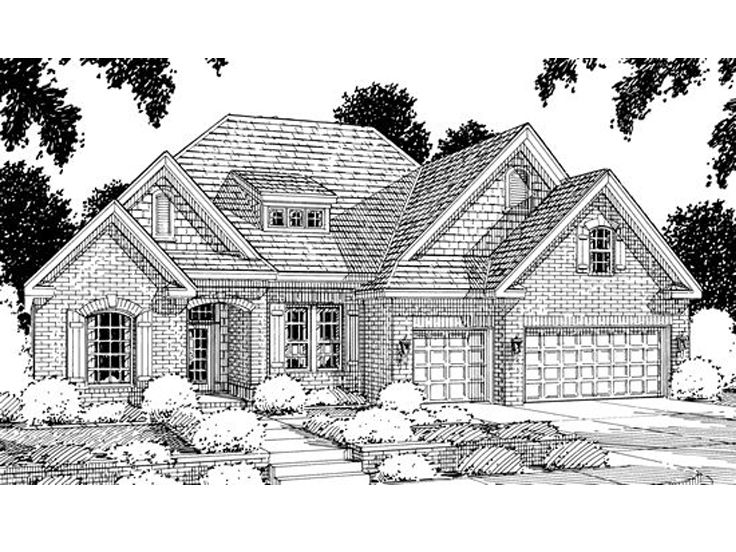 Two-Story House Plan, 059H-0004
