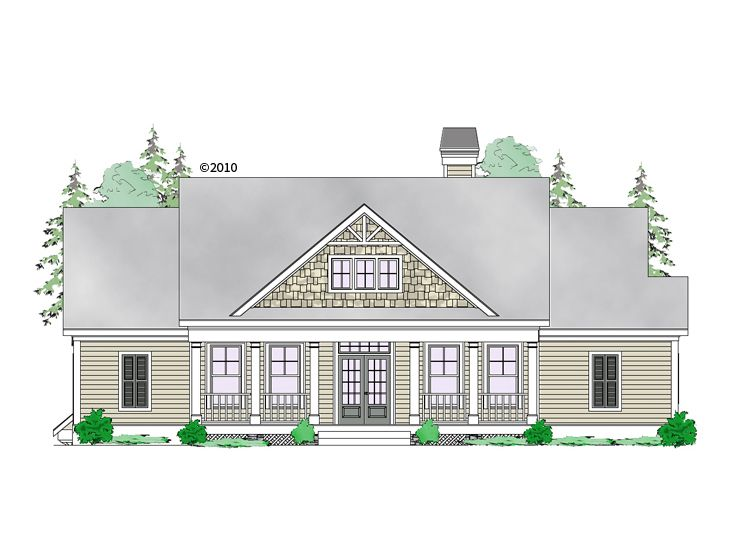 Empty-Nester Home Plan, 053H-0081