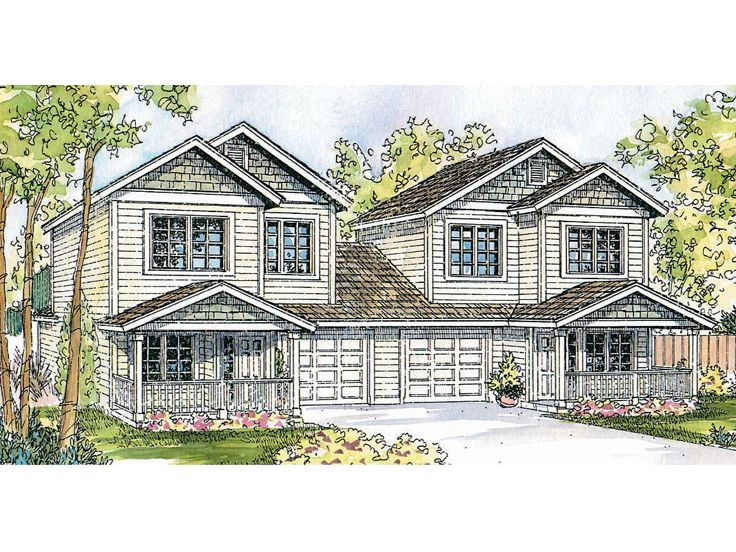 Plan 051m 0013 find unique house plans home plans and Unique duplex plans