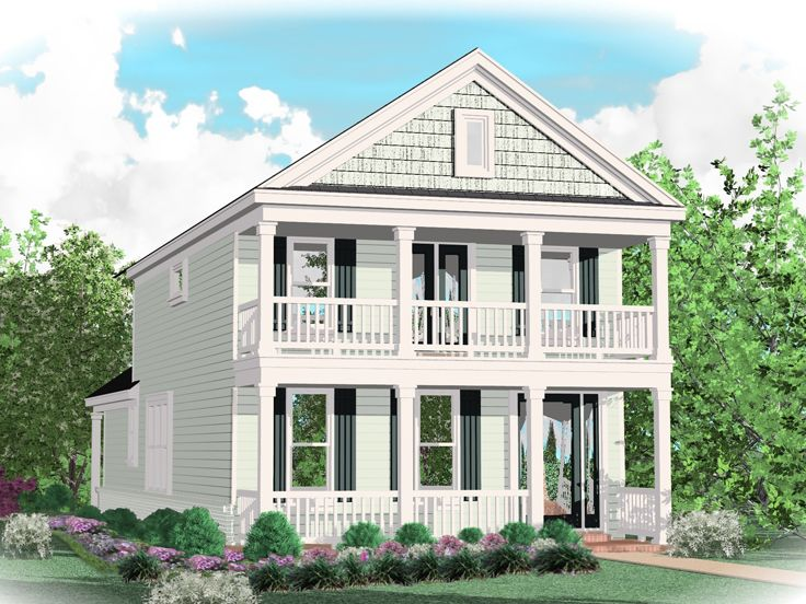 Colonial Home Design, 006H-0150
