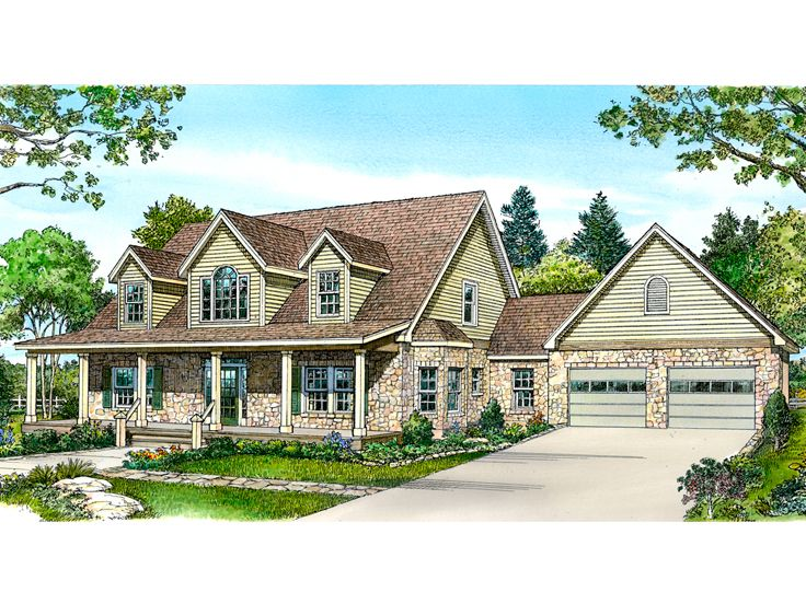 Two-Story Home Plan, 008H-0038
