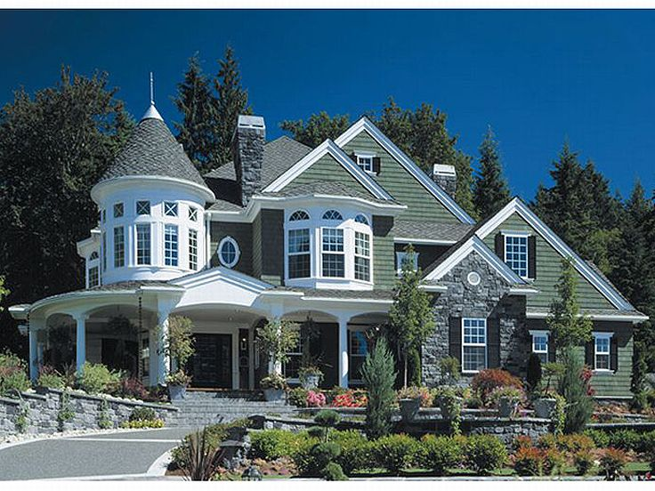 Wonderful Victorian House Plan, 035H 0036