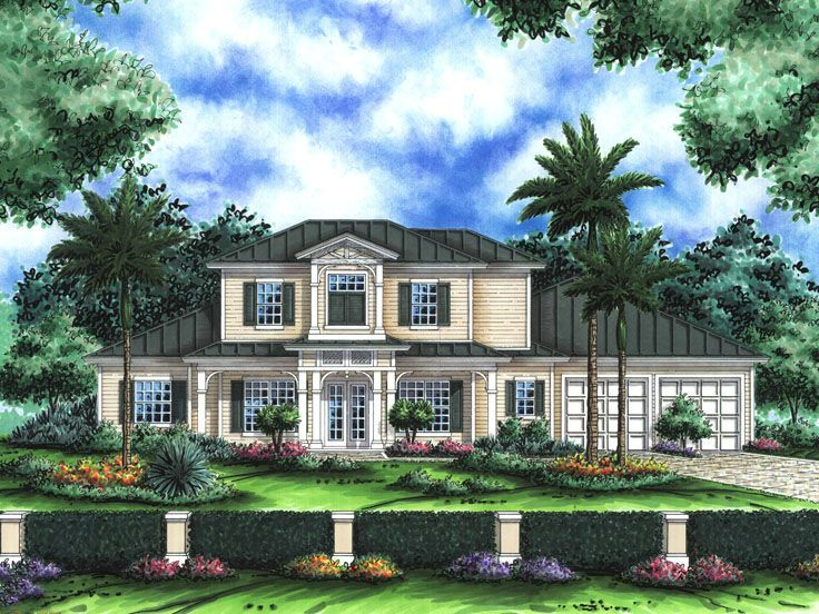 Old Florida Style Home, 040H-0057