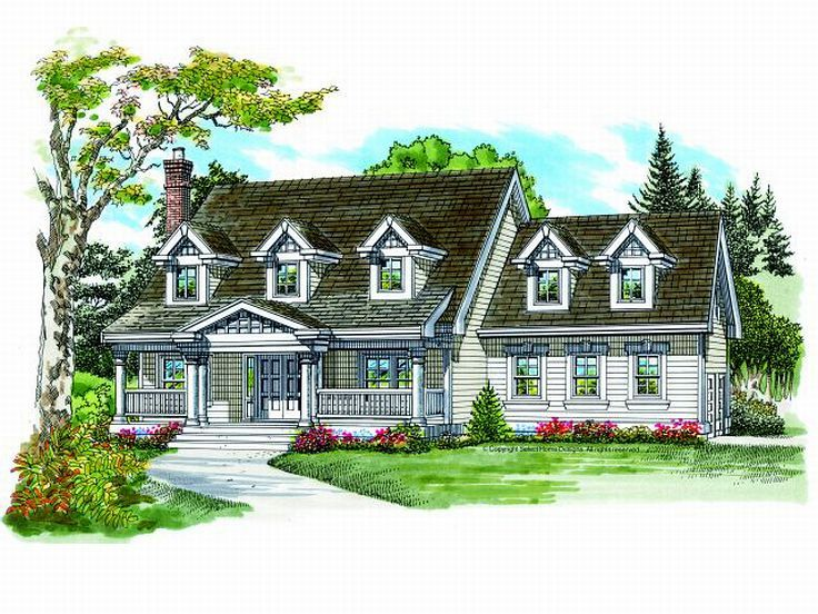 2-Story Home Plan, 032H-0066