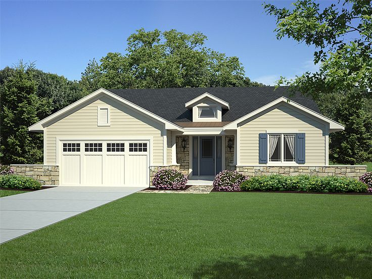 One-Story House Plan, 046H-0063