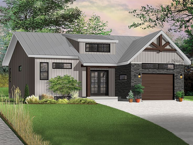Small House Plan, 027H-0469