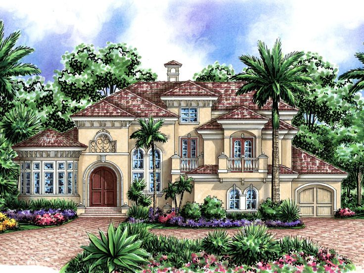 Florida House Plan, 037H-0157