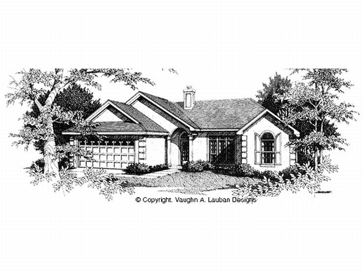 Sunbelt House Plan, 004H-0026