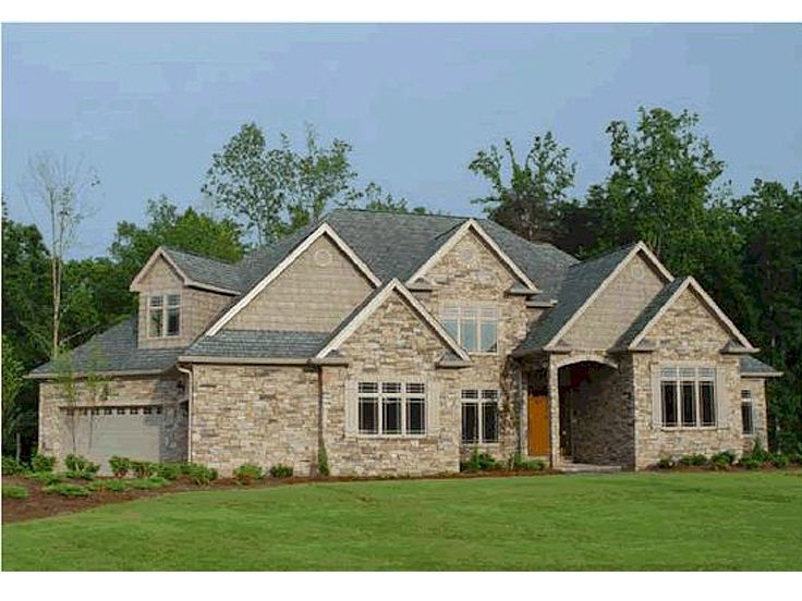 European House Plan, 031H-0027