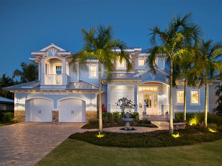 Coastal Home Plan, 037H-0191
