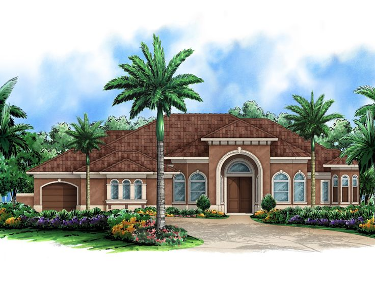 Florida House Plan, 037H-0184